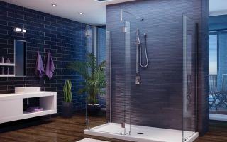 Душевая кабинка для современной ванной комнаты