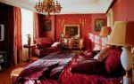 А вы знаете, как правильно применить бордовые шторы в интерьере комнат ?