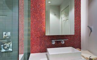 Мозаика в ванной комнате: идеи оформления (50 фото)