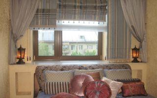 Шторы в восточном стиле: секреты использования в дизайне квартир