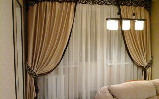 Ажурные ламбрекены: модная новинка в дизайне штор