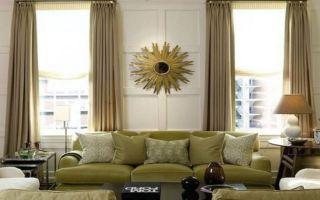 Как выбрать шторы для гостиной по стилю и цвету