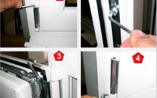 Советы – как отрегулировать пластиковое окно самостоятельно