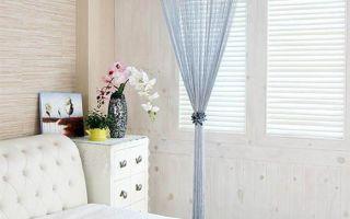Шторы-нити – уникальный вариант декорирования окна