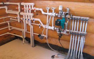 Монтаж водопроводных труб в доме