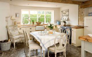 Кухня в деревенском стиле – дизайн, оформление, фото