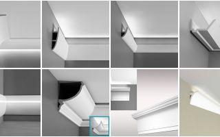 Как обустраивается скрытая подсветка потолка