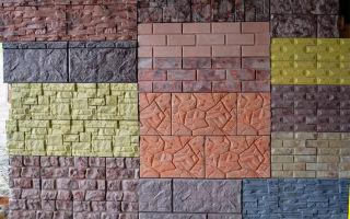 Выбор облицовочной плитки для фасада