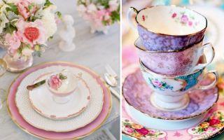 Наборы посуды для сервировки стола: виды и критерии выбора