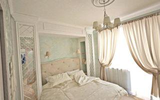 Дизайн интерьера спальни. дизайн маленькой спальни. классический стиль. фото