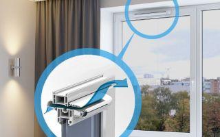 Почему так важен приточный клапан на пластиковом окне?