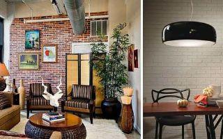 Обои под кирпич: кладка стены, фото в интерьере, белый, имитация в виде кладки, под покраску с рисунком, фактурные виниловые, можно ли клеить, видео