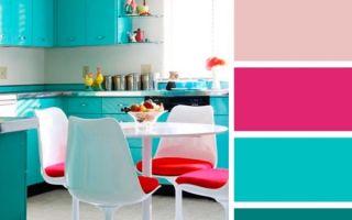 Лучшее сочетание цветов на кухне