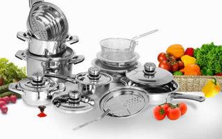 Кухонная посуда из керамики и нержавеющей стали: достоинства и недостатки