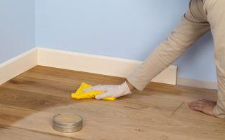 Как отмыть линолеум после ремонта: уход в домашних условиях