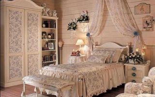 Интерьер спальни в стиле прованс своими руками (картинки, фото и видео)