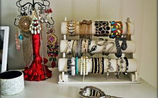 Хранение украшений своими руками: создание интересных декоративных изделий