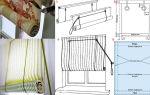 Механизм рулонных штор своими руками: особенности создания