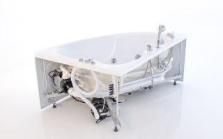 Как правильно установить ванну с гидромассажем и джакузи