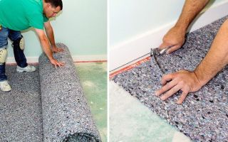 Как произвести укладку ковролина в помещении