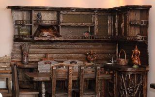 Как стилизовать мебель под старину своими руками