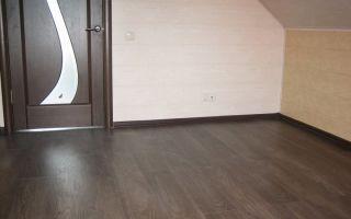 Как подобрать подходящий ламинат к дверям?