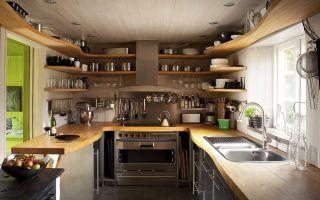 Привлекательные и оригинальные варианты дизайна кухни