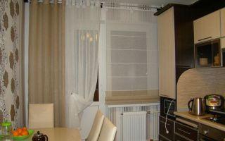 Шторы на окно с балконной дверью: правила подбора оптимальной конструкции