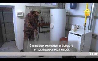 Как устранить течь системы отопления с помощью герметика?