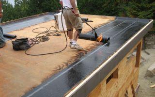 Чем покрыть крышу гаража?