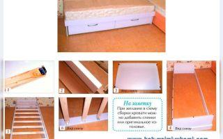 Кровать раздвижная своими руками — отличное решение для вашей спальни. как сделать кровать своими руками из дсп для ребенка