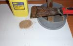 Шпаклевка по дереву своими руками: технология изготовления