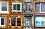 Обналичники на окна: изготовление своими руками