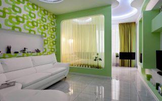 Современные идеи зонирования гостиной и спальни