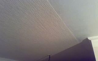 Флизелиновые обои для потолка