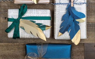 9 стильных идей упаковки новогодних подарков