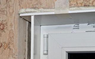 Монтаж откосов для пластиковых окон
