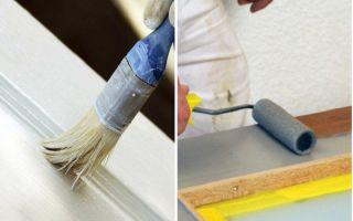 Особенности покраски дверей: технология и нюансы