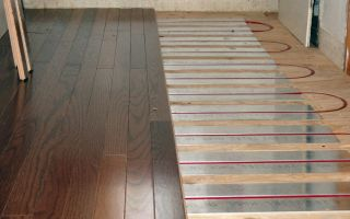 Теплый пол под ламинат на деревянный пол своими руками
