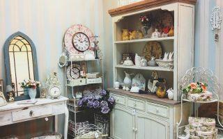 Декорации и аксессуары для дома в стиле шебби-шик