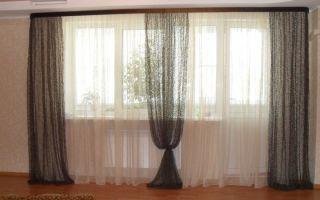 Дизайнеры советуют: как выбрать красивые шторы на два окна