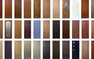 Отделка дверей панелями из мдф