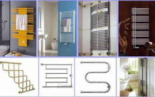 Монтаж водяного и электрического полотенцесушителя