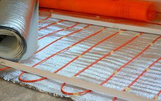 Теплоизоляция для теплого пола: изоляция водяная и рулонная, электрическая и лавсановая подложка, отражатель