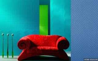 Свойства стеклообоев и их применение в современных интерьерах