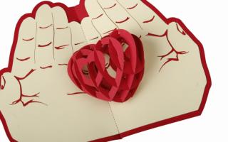 Шаблон сердца для вырезания из бумаги: что подарить на 14 февраля (+45 фото)