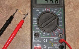Как проводить измерения электронным тестером (мультиметром)