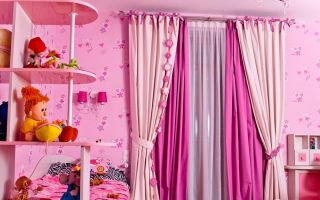 Как подобрать шторы для детской комнаты?