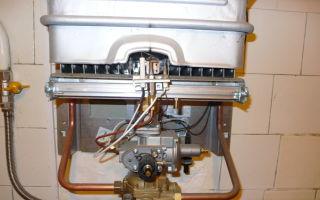Ремонт газовой колонки: неисправности и способы их устранения