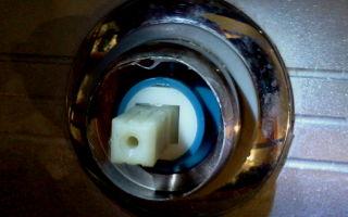 Выбор и ремонт картриджа в смесителе для душевой кабины